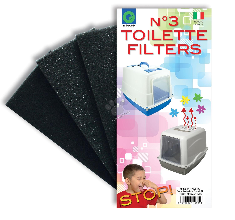 Georplast - Filtri Toilette - филтър за закрита котешка тоалетна 9 / 18 см.