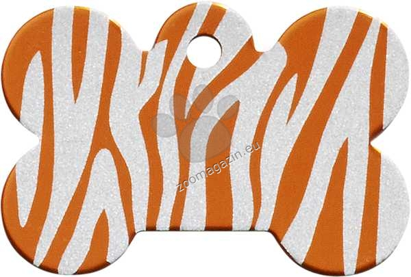 iMARC - Orange Zebra Bone