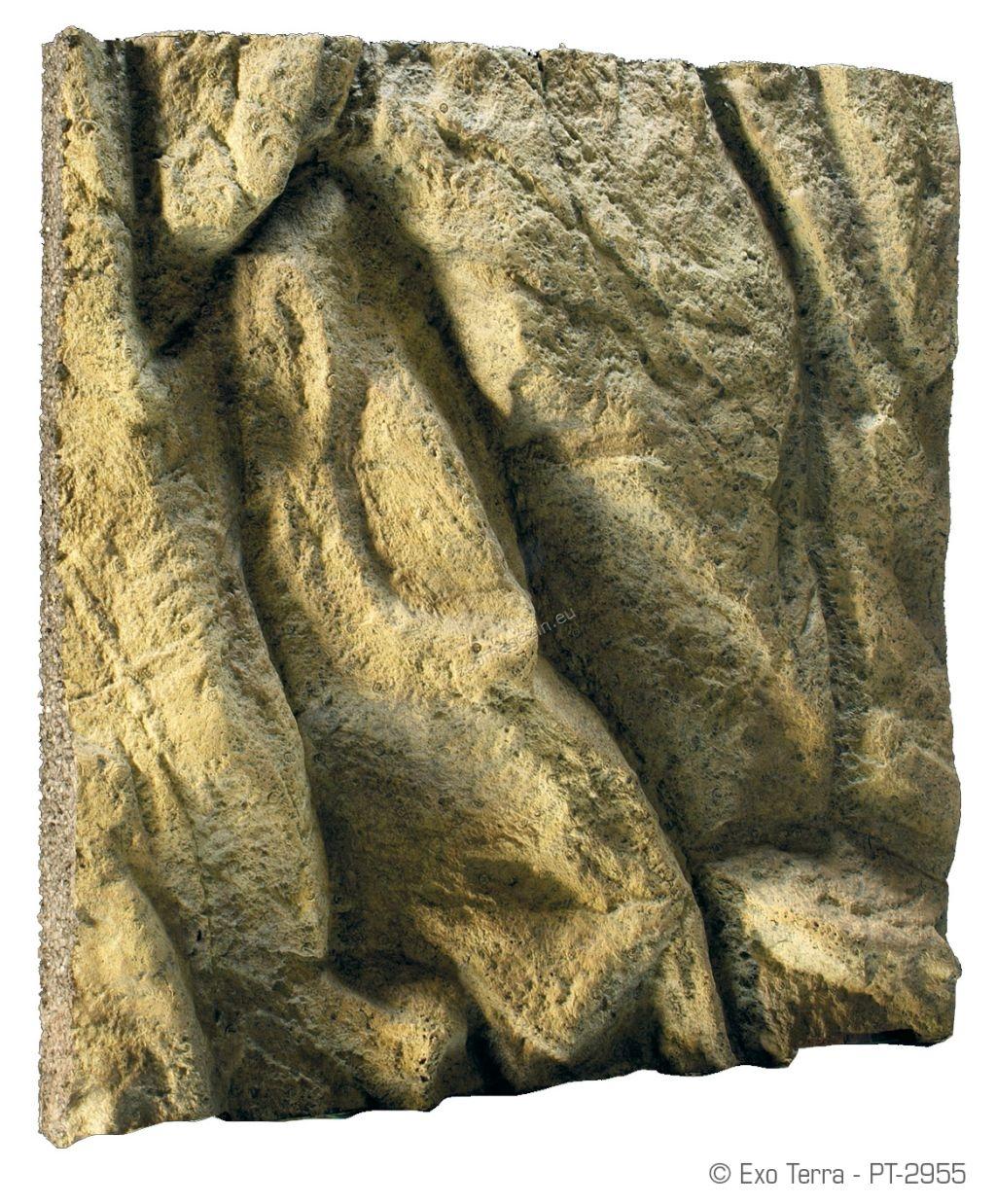 Exo Terra Rock Terrarium Background - πίσω υπόβαθρο για ερπετάριο με βράχο 45x45 cm pt2955