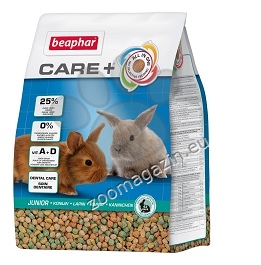 Beaphar Care Super Premium Junior - храна за малки зайчета 1.5 кг.