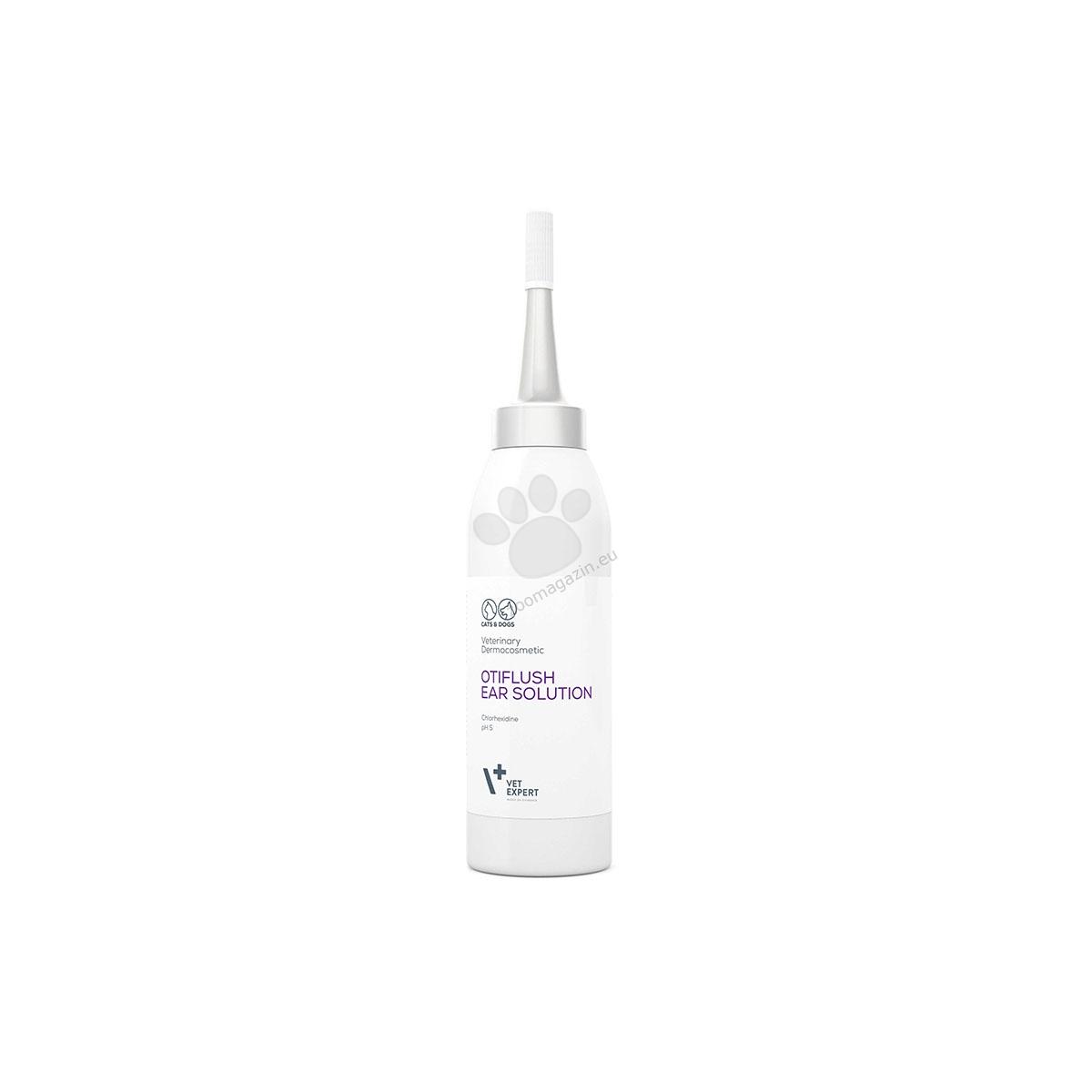 Vetexpert - OtiFlush ear solution - за оптимална хигиена на ушния канал 125 мл.