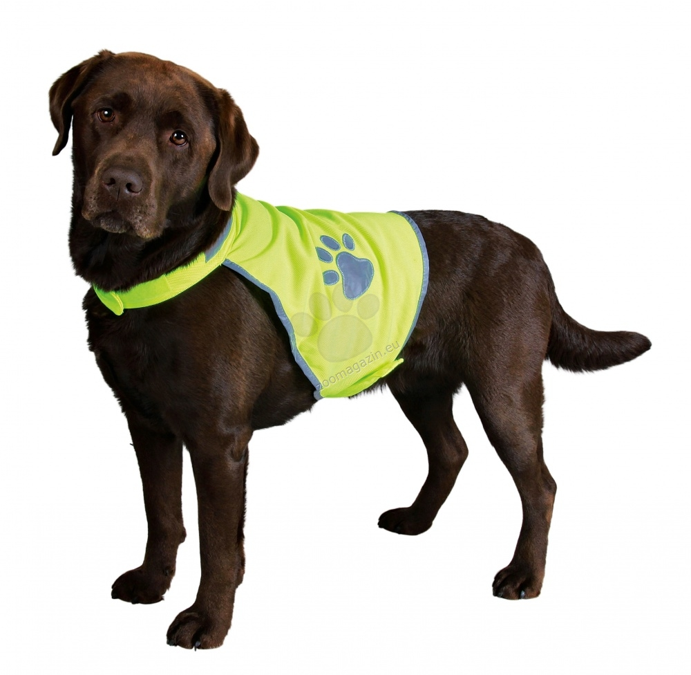 Trixie Safer Life Safety Vest XS -ανακλαστικό γιλέκο,για σκύλους με περίμετρο λαιμού 22-32 cm και στήθους 34-40 cm
