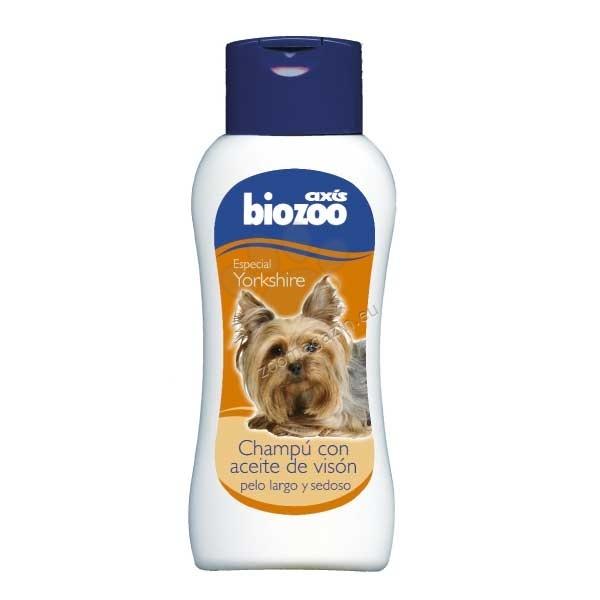 Biozoo Yorkshire Special Shampoo with Mink Oil - шампоан с масло от норка, за йоркширски териери и други малки породи 250 мл.