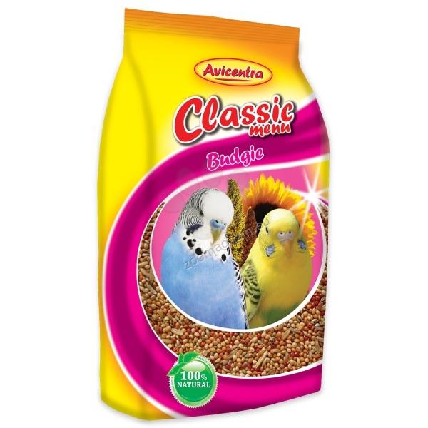 Avicentra Classic menu budgie - храна за вълнисти папагали 500 гр.