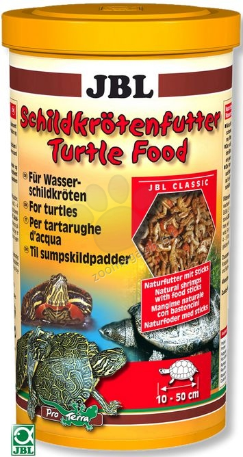 JBL Turtle Food - балансирана храна за костенурки 2500 мл.