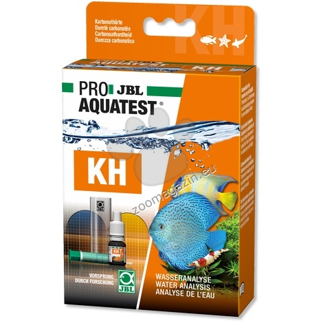 JBL Proaquatest KH Carbonate - тест за измерване карбонатната твърдост на сладка вода