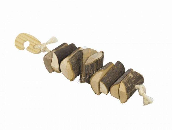 Nobby Knabber Holzkette - натурална играчка за гризачи 25 см.
