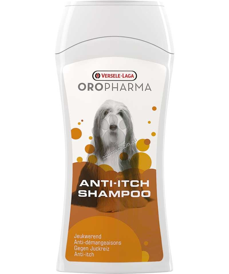 Versele Laga - Oropharma Anti-Itch Shampoo - успокояващ шампоан против сърбеж, хидратира кожата 250 мл.