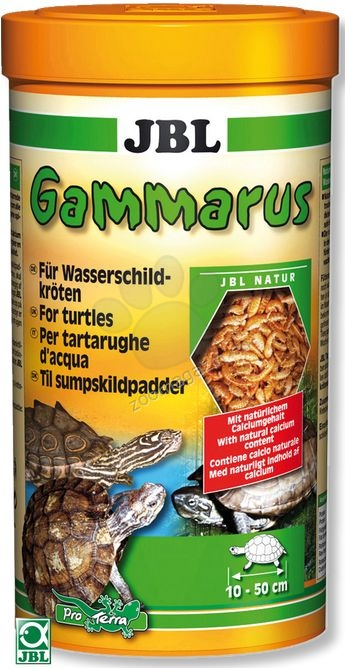 JBL Gammarus - храна за костенурки /гамаруси/ 1000 мл.