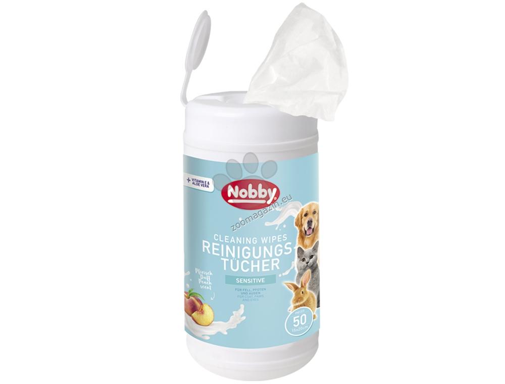 Nobby Universal cleaning wipe - универсални мокри почистващи кърпички 50 броя
