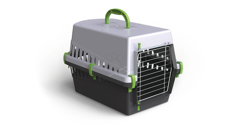 Georplast - Transportino - транспортна чанта с метална вратичка / синя, розова, зелена / 50 / 33 / 32 см.