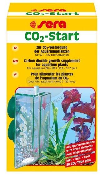 Sera - CO2 Start - за снабдяване с въглероден двуокис за силни аквариумни растения