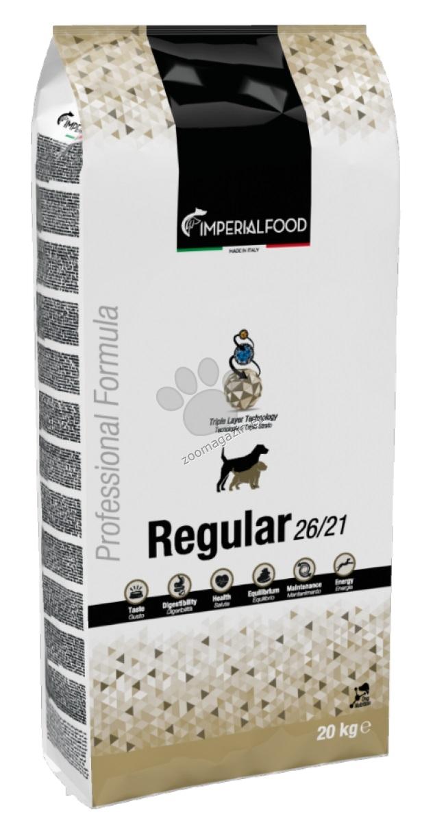 Imperial Food Regular - суха храна за кучета с ниска активност, възрастни, или с наднормено тегло 20 кг.