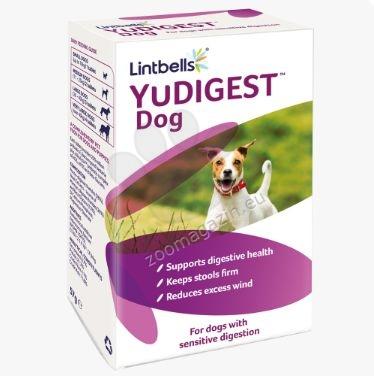 Lintbells - YuDIGEST – овкусени пробиотични таблетки за възстановяване на чревната микрофлора (за кучета) 60 таблетки