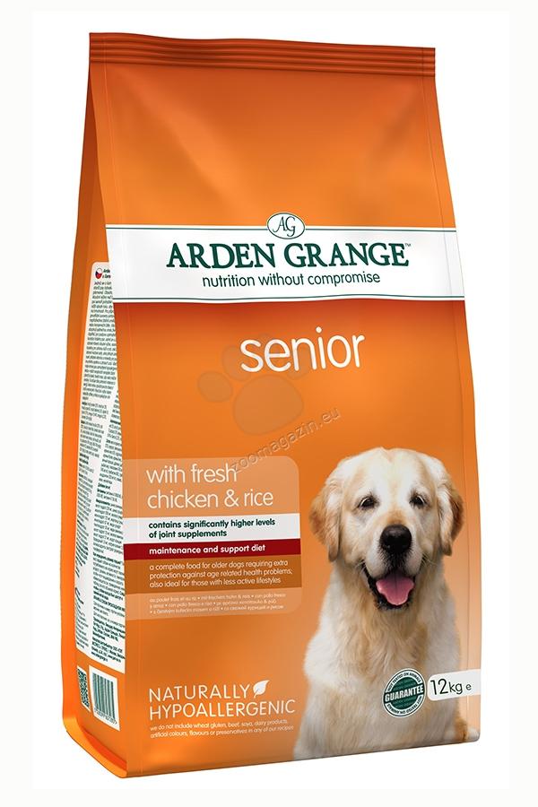 Arden Grange - Senior Chicken & Rice - с пилешко месо и ориз, за кучета над 8 годишна въраст 12 кг
