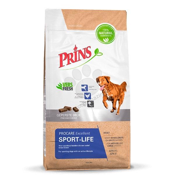 Prins ProCare Sport-Life - за високо активни спортни кучета 15 кг.
