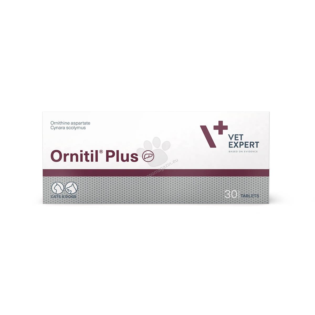 Vetexpert - Ornitil Plus - за кучета и котки, при чернодробна енцефалопатия и уремия 30 табл.