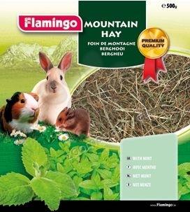 Flamingo Mountain Hay - планинско сено с мента 500 грама