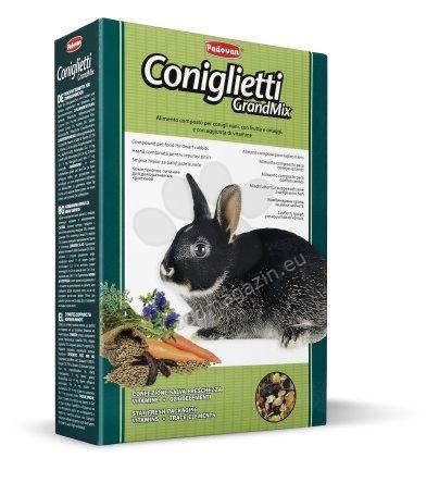Padovan Grandmix conigletti - пълноценна храна за мини зайчета 850 гр.