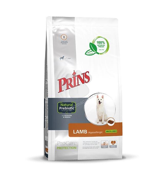 Prins ProCare Protection Lamb Hypoallergic - препоръчва се за кучета от средни и едри породи с чувствителна кожа и козина 15 кг.
