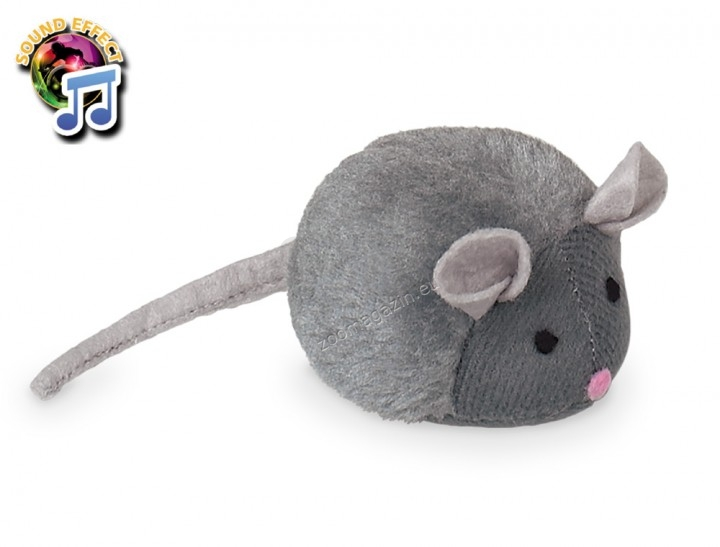 Nobby Plush Mouse with voice - музикална играчка 15 см.