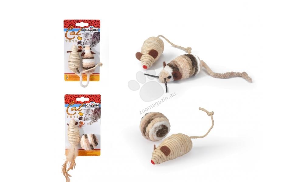 Camon ball and sisal mouse - котешка играчка