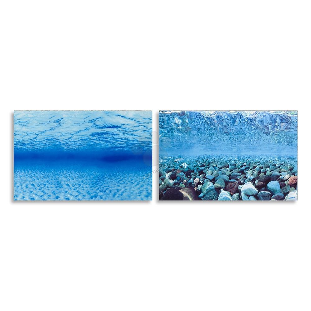 Ferplast - blu9047 - двулицев фон за аквариум 80 / 40 cm.
