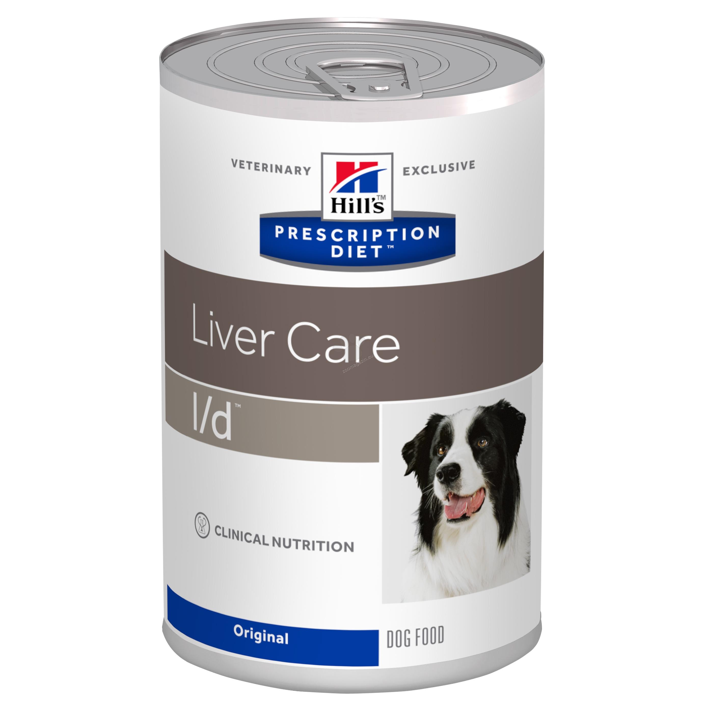 Hills Prescription Diet l/d Canine - диета за кучета с чернодробни заболявания 370 гр.