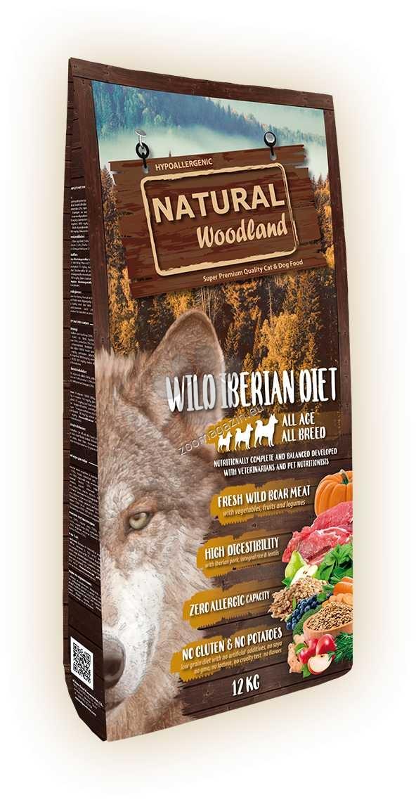 Natural Woodland Iberian Diet - с прясно месо от диво прасе 12 кг.