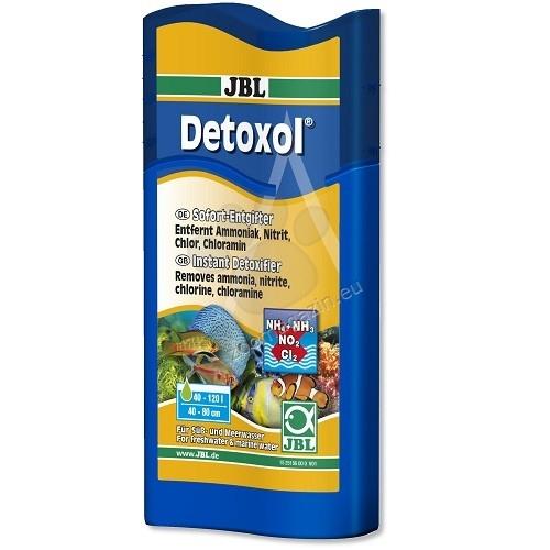 JBL Detoxol - за моментално премахване на токсините от аквариумната вода 250 мл.