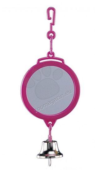 Nobby Cage toy and equipment - кръгло огледалце с камбана