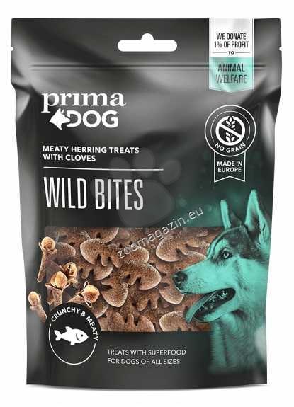 Prima Dog Wild Bites Herring with Cloves - деликатесно лакомство с херинга 100 гр.