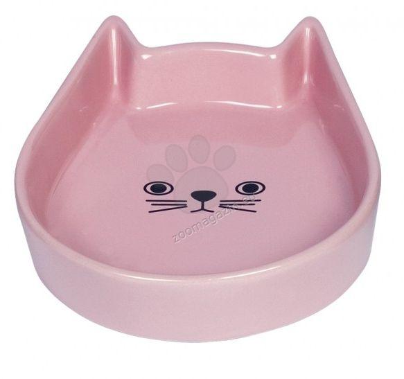 Nobby Kitty Face - купичка 13 / 16 / 3 см. / бяла, синя, розова /