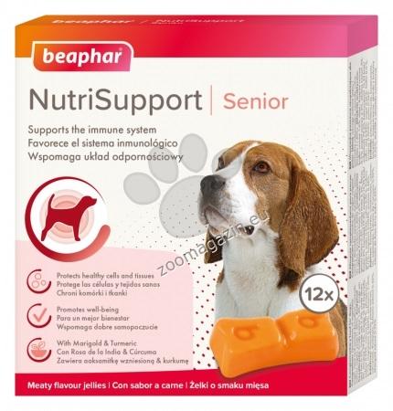 Beaphar NutriSupport Senior Dog - специално формулирани за нуждите на четириногите със симптоми на стареене 12 бр.