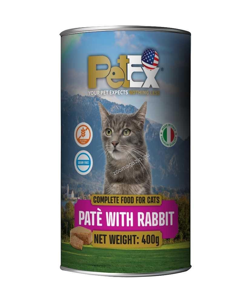Petex Cat Pate Rabbit - със заешко месо, пастет 400 гр.