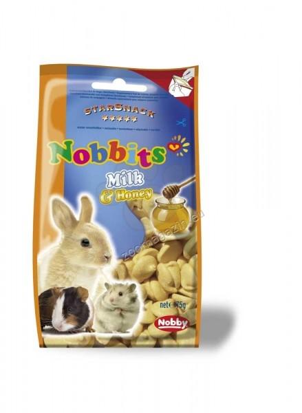 Nobby Nobbits Milk & Honey - дропс с мляко и мед за гризачи  75 гр.