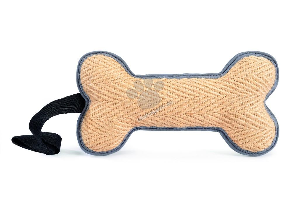 Camon Throw&catch jute bone with handle - играчка за обучение 25 см.