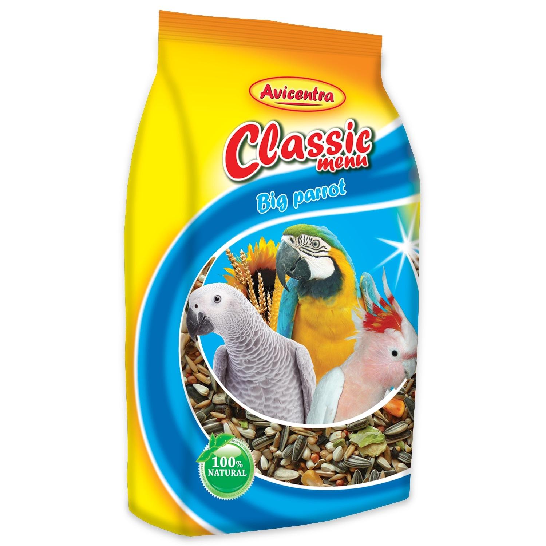 Avicentra Parrot classic menu - храна за големи папагали 1 кг.