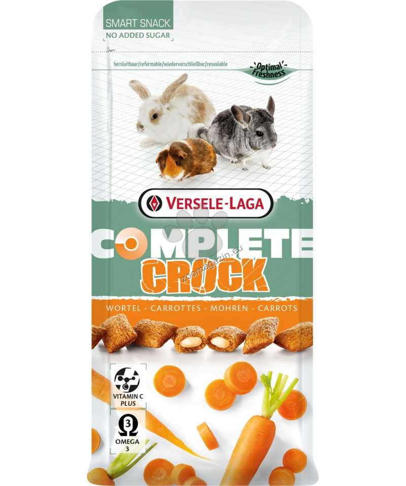 Versele Laga - Complete Crock Carrot - бисквитки с пълнеж моркови  50 гр.