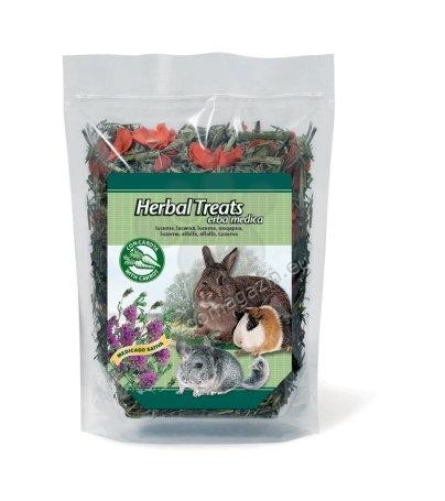 Padovan Herbal treats erba medica - деликатесно сено /люцерна и моркови/  270 гр.