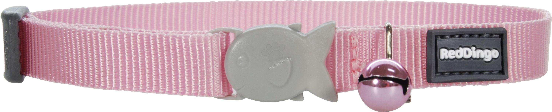 Red Dingo Cat Collar Classic Pink - котешки нашийник, 12 мм х 20-32 см