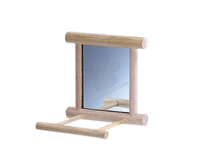 Nobby Cage equipment made of wood - огледалце 10 / 10 см.