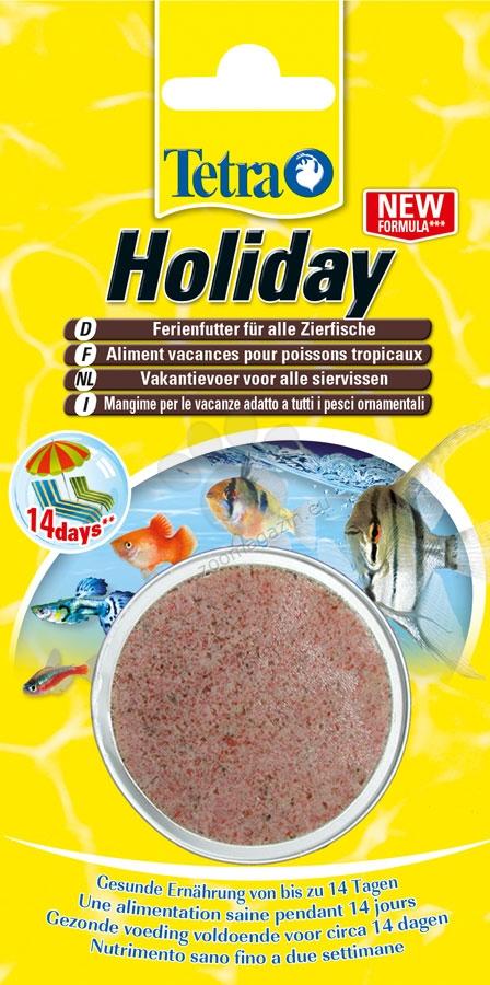 Tetra - TetraMin Holiday - здравословно хранене в продължение на 14 дни когато сте далеч от дома 30 гр.