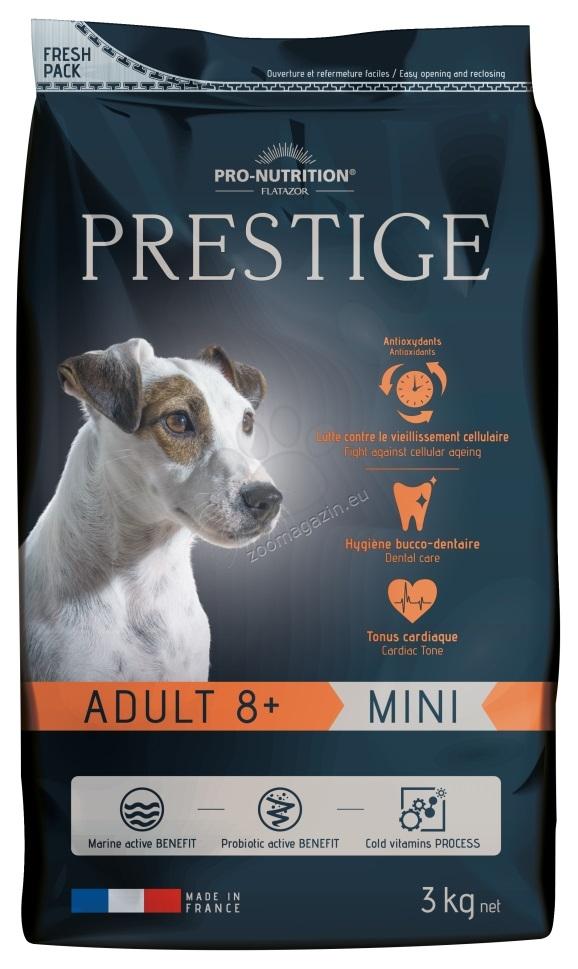 Flatazor Prestige Adult Mini 8 + - пълноценна храна за кучета малки породи над 8 години 3 кг.