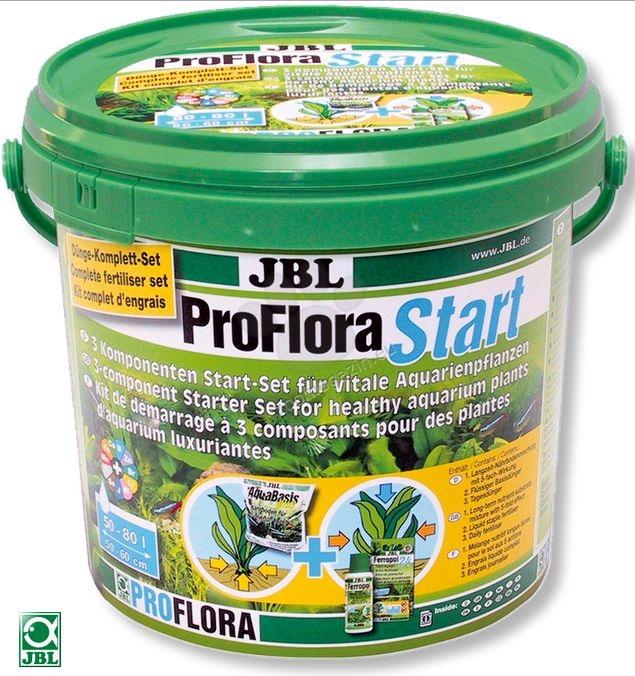 JBL ProFloraStart Set 100 - три-компонентен стартиращ комплект за силни аквариумни растения 3 кг.