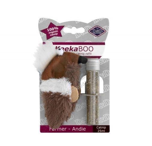 EBI Farmer-Andie - играчка с пълнеж Catnip 9 см.
