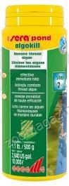 Sera - Pond Algokill - незабавно ефективен 500гр., против нишковидни водорасли, за 10000л вода