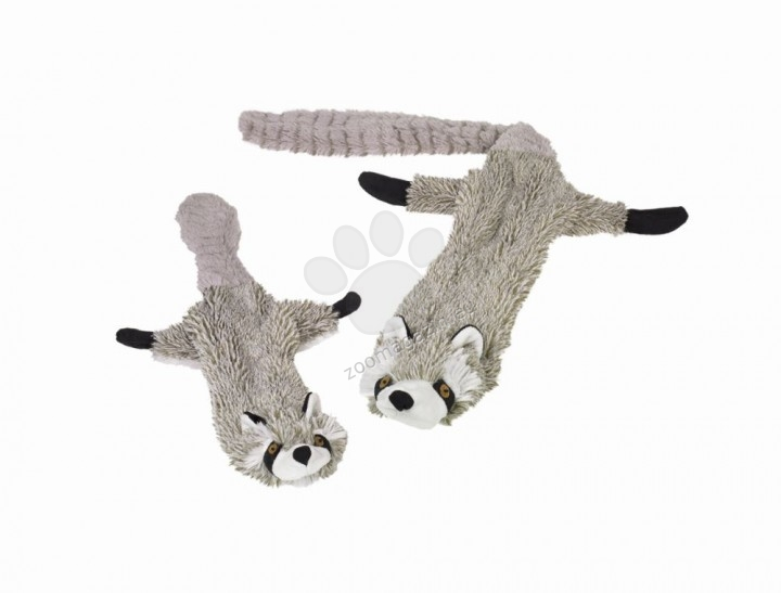 Nobby Plush Raccoon Flat - плюшена играчка миеща мечка / малка / 61 см.