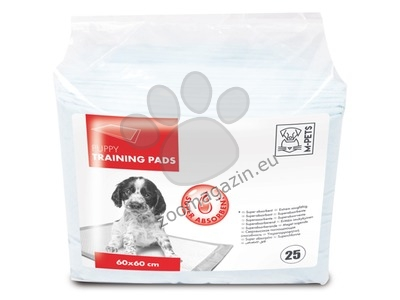 M-Pets Puppy Training Pads - памперси 60 / 60 см., 25 броя