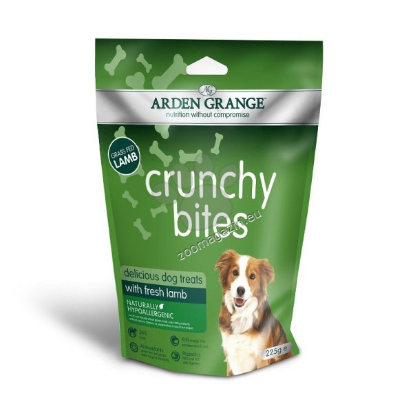 Arden Grange - Crunchy Bites Lamb - хрупкави бисквити с прясно агнешко месо 225 гр.